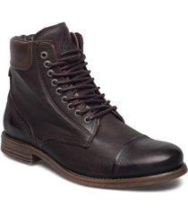 doverlake leather sh snörade stövlar brun sneaky steve