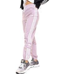 pantalon  lila  adidas originals lock up tp