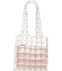 halogen x atlantic-pacific clear beaded tote -