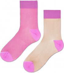 skarpetki filippa nylon ankle sock pink