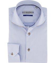 ledub shirt lichtblauw tailored fit