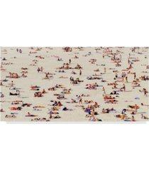 "american school bondi bathers canvas art - 37"" x 49"""