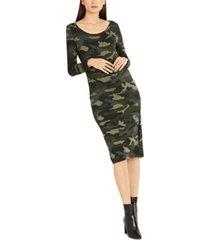 bb dakota maternity french terry dress