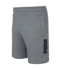"bermuda masculina puma power logo shorts 8"" tr"