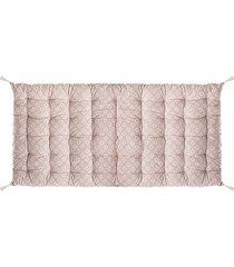 poduszka siedzisko na podłogę beżowe 120x60 cm