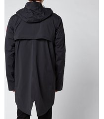 canada goose men's seawolf rain jacket - black - xl