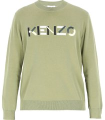 kenzo cotton sweater with logo