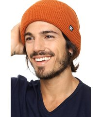 gorro naranja dc shoes harvester 2