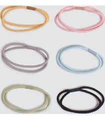 bandas elasticas para el cabello color surtido, talla uni
