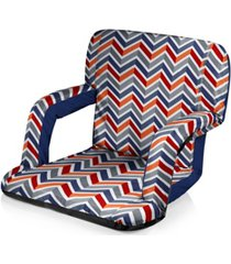 oniva by picnic time ventura vibe portable reclining stadium seat