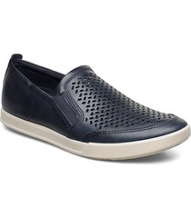 collin 2.0 shoes business loafers blå ecco