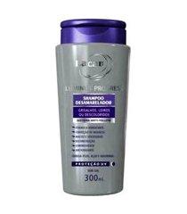 lacan lumino progress shampoo desamarelador 300ml