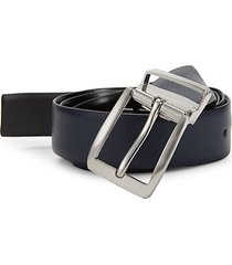 classic grained leather belt