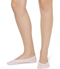 calzedonia - low-cut ballerina socks, one size, pink, women