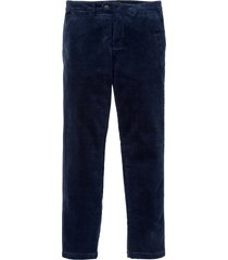 pantaloni chino in velluto (blu) - bpc selection