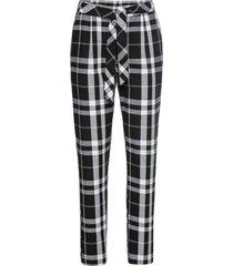 pantaloni a quadri (bianco) - rainbow