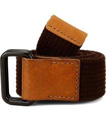 cinturón café-miel colore
