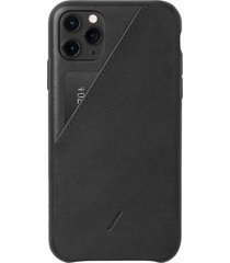 native union clic card iphone case - black - iphone 11 pro max