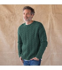 roland cable knit sweater