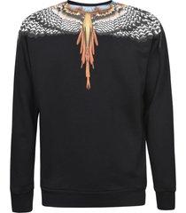 marcelo burlon regular grizzly wings sweatshirt