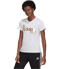 camiseta adidas performance mujer linear foil