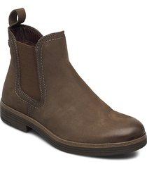 woms boots shoes chelsea boots grön tamaris