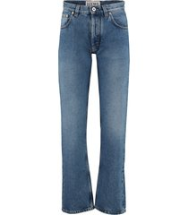 loewe embroidered jeans