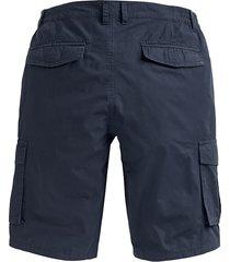 shorts med extra plats över magen men plus marinblå