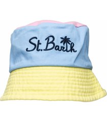 multicolor pastel hat
