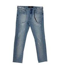 calça hocks 21-633 jeans claro masculina camada