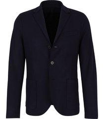 straight knitted jacket