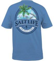 salt life men's hammock time pocket tee