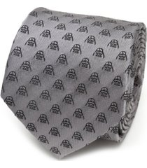star wars darth vader metallic black men's tie