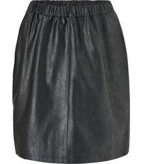 jrsavannah hw imitated leather skirt