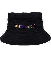 chapéu bucket skull clothing astroworld - unissex