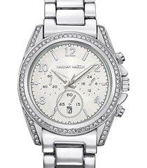 reloj mujer hannah martin 1107 - plata