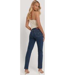 levi's 501 croppade jeans - blue