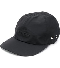 1017 alyx 9sm logo plaque baseball cap - black