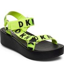ayli shoes summer shoes flat sandals grön dkny