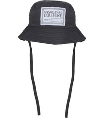 versace jeans couture nylon bucket hat
