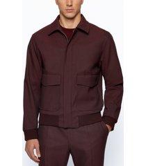 boss men's slim-fit contemporary jacket