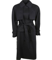 msgm belted coat