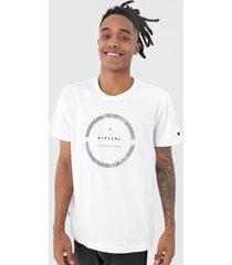 camiseta rip curl commander branca - branco - masculino - dafiti