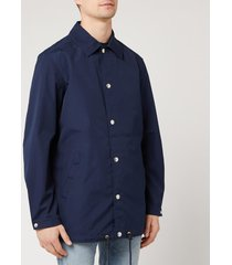 kenzo men's coach jacket - midnight blue - xl