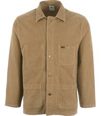 lois jeans french workers jacket - dark sand 1086-5274