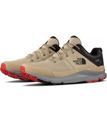 zapatilla m vals wp hiking beige the north face