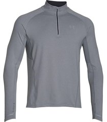 sueter under armour launch 1/4 zip-plateado