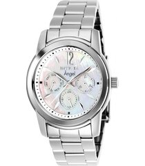 reloj invicta acero modelo 04rc para dama, colección angel
