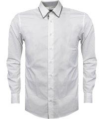 haupt overhemd modern fit wit 00418025