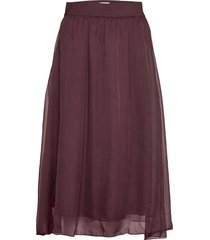 coralsz skirt knälång kjol lila saint tropez